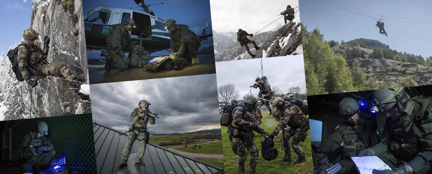 Petzl Tactical Equipment