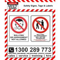 Bullying Discrimination & Harassment Signs