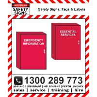 Danger & Emergency Cabinets