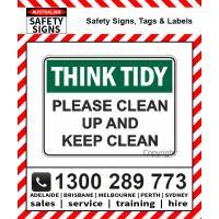 Housekeeping Signs & Labels