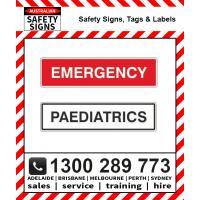 Medical Room Labels
