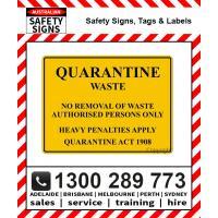 Quarantine Signs & labels