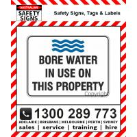 Water Restric. Signs & Labels
