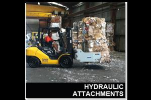 Hydraulic Forklift Attachments