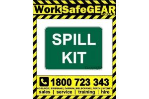 Spill Prevention Signage