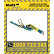 Beaver Ratchet Tie Down 75mm X 12m With Hook & Keeper - Lc 5000kg (349075-12)