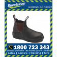 Blundstone Style 140 Stout Brown Premium Water Resistant Leather Upper Elastic Side Safety Boot