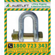 Grade S Safety Pin Dee Shackle 017T 38mm (504538)