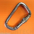 25kN Steel Extra Large D Screw Gate Rated (Krab 030 -S 958IS)