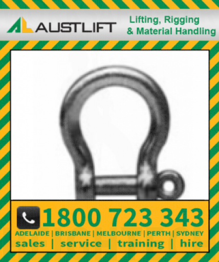 Commercial Bow Shackle 0800kg 16mm (501516)