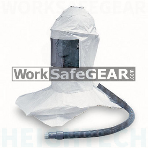 Deluxe Tyvek Bib with Suspension and Personal Air Cooler (ResAL 9909-CSD WSG)