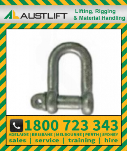 Grade M Shackle 02T 19mm (502019)