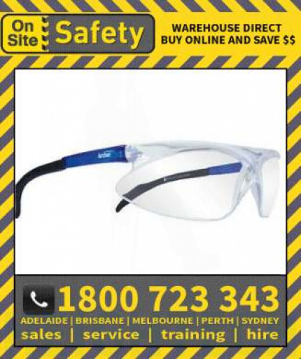 On Site Safety ARCHER Industrial Safety Glasses Specs