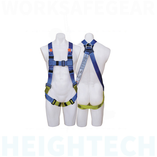 FIRST Fall Arrest Harness with Adjustable Integral Lanyard