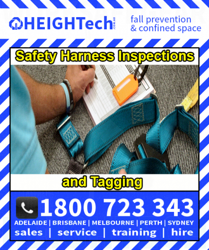Safety Harness Inspections and Tagging