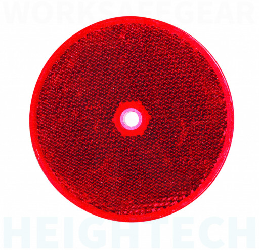 85mm Reflective Corner Cube Delineator - Red (RC-R)