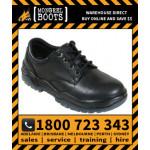 Mongrel Black Derby Shoe Safety Work Boot Victor Footwear Shoe (210025)