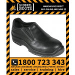 Mongrel Black Slip On Shoe Safety Work Boot Victor Footwear Shoe (315085)