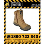 Mongrel Boot 451050 Wheat High Leg ZipSider Safety Work Boot Victor Footwear