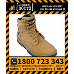 Mongrel WHEAT Lace Up Boot Safety Work Boot Victor Footwear Shoe (260050)