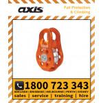 Axis 22kN PULLEY Fixed Cheek Orange (APUL11)