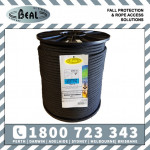 1m Beal Black Intervention TACTICAL 11mm Rope