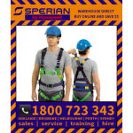 Honeywell Sperian Polyester Riggers Harness (M1020067) Medium/Large