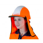 Uveto ORANGE Micro Mesh Gobi Over Hat Helmet Add-on
