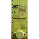 DBI Sala LadSaf Inspection Plate Yellow
