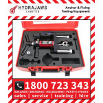 Hydrajaws Model 2000 SAFETY HARNESS EYEBOLT Export Tester Kit with Analogue Gauge (CS2000EBEXP) Anchor Fastener Pull Tester