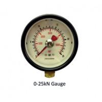 Hydrajaws Medium Duty Analogue Gauge 25kN (MDG025)