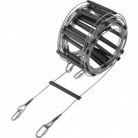 Caving Rescue Ladder Safety 25m Wire Cable aluminium