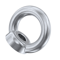 27mm, Eye Nut With Collar, DIN582, Metric Threads WLL2.5T