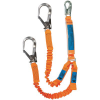 SPANSET ERGO Twin Lanyards with Scaffold Hooks
