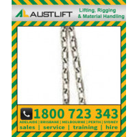 10mm Commercial Chain, Long Link, Gal, (Drum 500kgs)(704210)