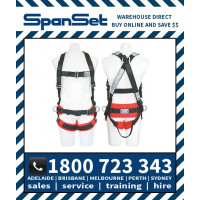 Spanset 1107 ERGO HotWorks Fully Body Height Safety Harness Hot Works