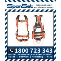 Spanset 1107 ERGO ToughWorks PVC Full Body Height Safety Harness Tough Works
