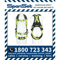 Spanset 1107 WaterWorks Premium ERGO Full Body Height Safety Harness Water Works