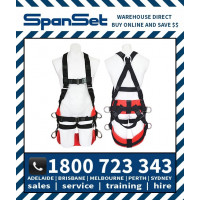 Spanset 1600 ERGO HotWorks Fully Body Height Safety Harness Hot Works