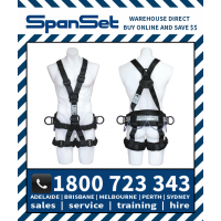 Spanset 1800 StageWorks ERGO Full Body Entertainment Industry Height Safety Harness Stage Works