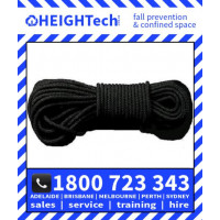 Tactical Response Rescue Rope 11mm Black rated 3000kg