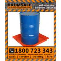 1 DRUM SPLASH TRAY Drumsafe Spill Prevention Secondary Containment