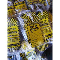 OUT OF SERVICE Tags-Single