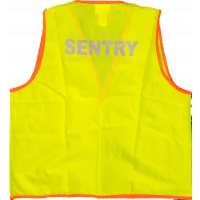 Yellow Vest large- Reflective Sentry