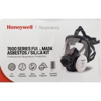 HoneyWell North 7600 Medium Full Face Respirator Medical & Industry Mask + N7500P3 Filters