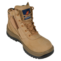 Mongrel Wheat Zipsider Boot Steel Cap (261050)
