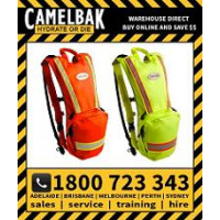 Camelbak HI VIZ Ambush 3L Hydration Pack ORANGE or LIME