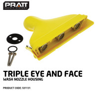Triple Aerated Eye & Face Wash Nozzle (531131)