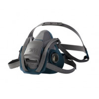 3M Small Rugged Comfort Half Facepiece Respirator Quick Latch (6501QL)  mask only, filters not included