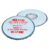 3M GP2/GP3 Particulate, Ozone & Nuisance Level OV/AG Disc Filter (2138)